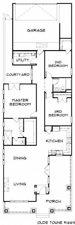 #1669 - Base Floor Plan
