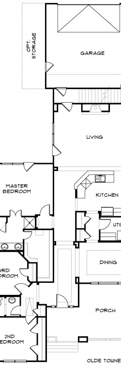 #1953 - Base Floor Plan