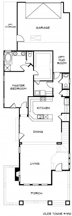 #1992 - Base Floor Plan
