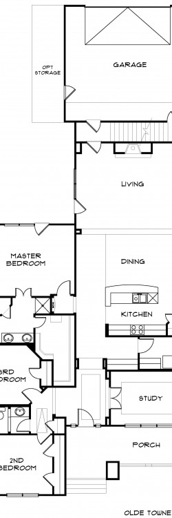 #2072 - Base Floor Plan