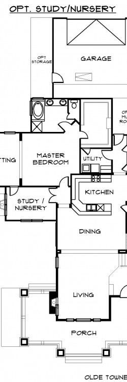 #2152 - Opt Study. Nursery Main Floor
